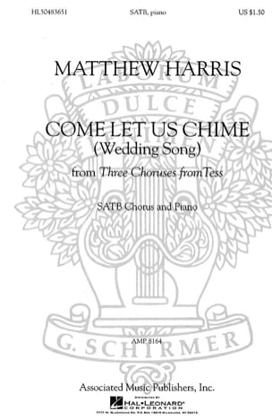 Come Let Us Chime Matthew Harris Partition Chœur - laflutedepan