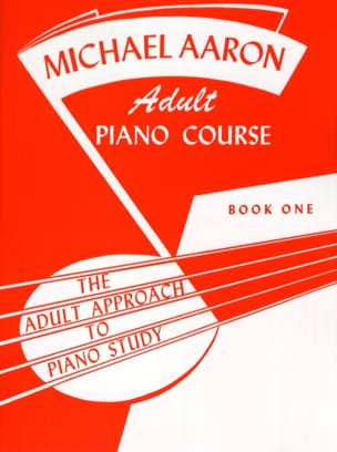 AARON - Adult Piano Course Book 1 - Partition - di-arezzo.co.uk