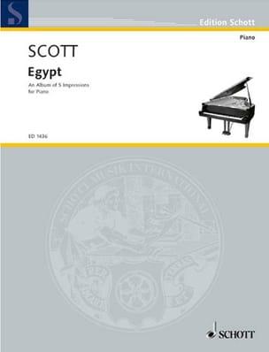Egypt Cyril Scott Partition Piano - laflutedepan