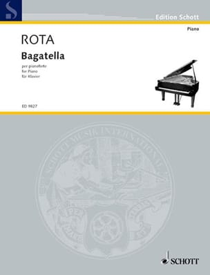 Bagatella. ROTA Partition Piano - laflutedepan
