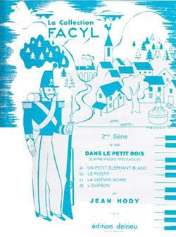 Dans le Petit Bois Jean Hody Partition Piano - laflutedepan