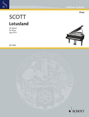 Lotusland, Op. 47-1 Cyril Scott Partition Piano - laflutedepan
