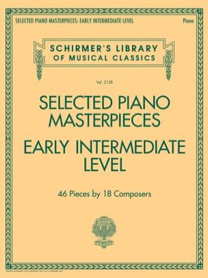 Selected Piano Masterpieces. Early Intermediate Level laflutedepan