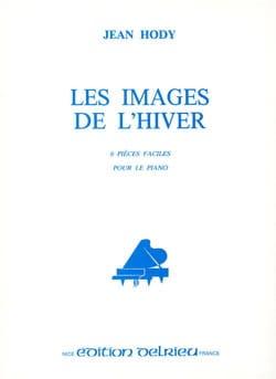 Les Images de L'hiver Jean Hody Partition Piano - laflutedepan
