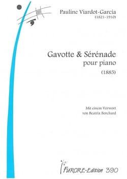 Gavotte et Sérénade - Pauline Viardot-Garcia - laflutedepan.com