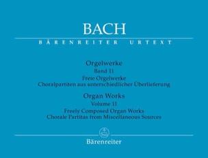 BACH - Orgelwerke. Band 11. Urtext Der Neuen Bach-Ausgabe - Partition - di-arezzo.co.uk