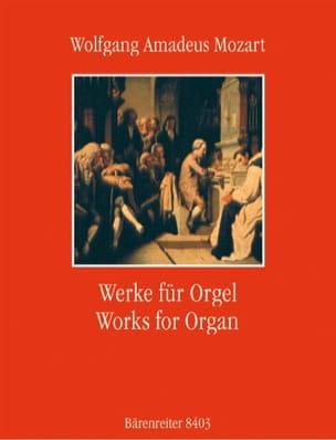 Werke Für Orgel MOZART Partition Orgue - laflutedepan