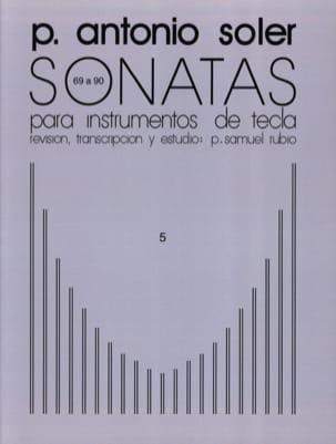 Sonates. Volume 5 Antonio Soler Partition Clavecin - laflutedepan