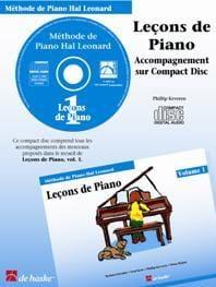 Leçons de Piano Volume 1. CD laflutedepan
