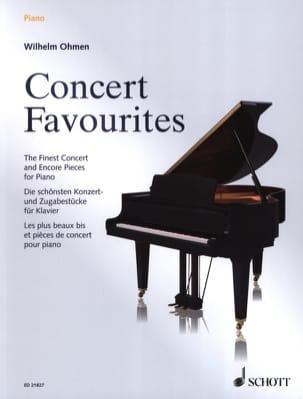 Concert Favorites - Partition - di-arezzo.com