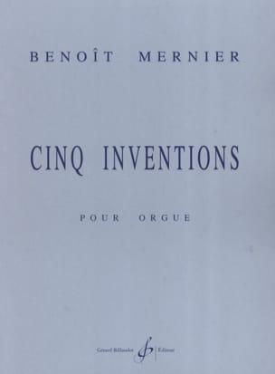 5 Inventions Benoit Mernier Partition Orgue - laflutedepan