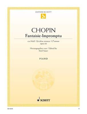 Fantaisie-Impromptu Opus 66 CHOPIN Partition Piano - laflutedepan