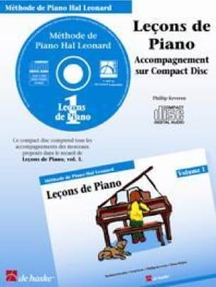 Leçons de Piano Volume 1. CD - laflutedepan.com