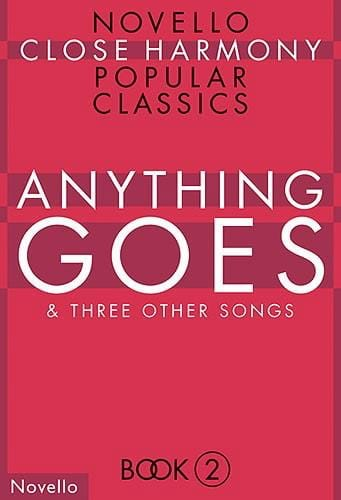 Anything Goes And 3 Other Songs - Partition - laflutedepan.com