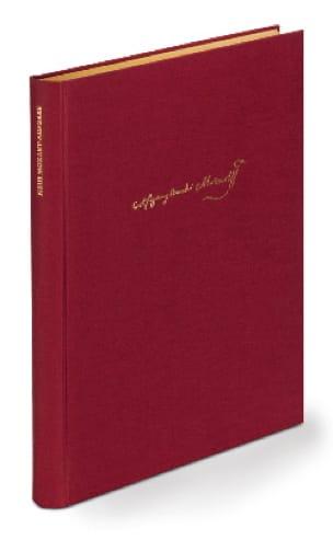 Oeuvres Pour 2 Claviers - Volume relié - MOZART - laflutedepan.com