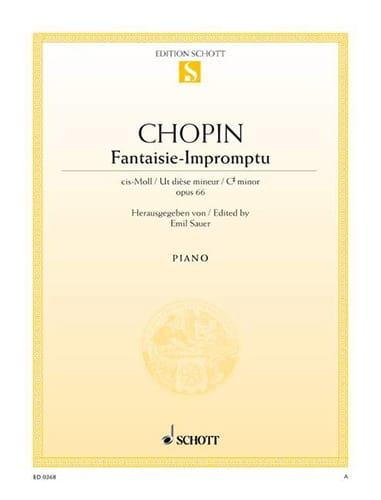 Fantaisie-Impromptu Opus 66 - CHOPIN - Partition - laflutedepan.com