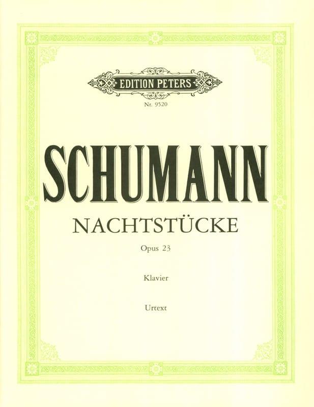 Nachtstücke Op. 23 - SCHUMANN - Partition - Piano - laflutedepan.com