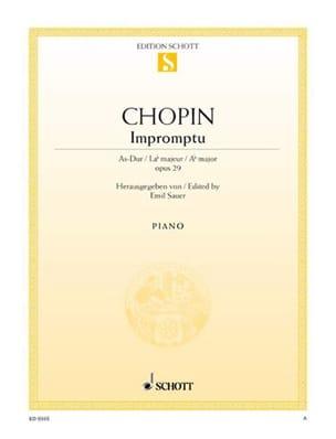 Impromptu la Bémol Majeur Opus 29 - CHOPIN - laflutedepan.com