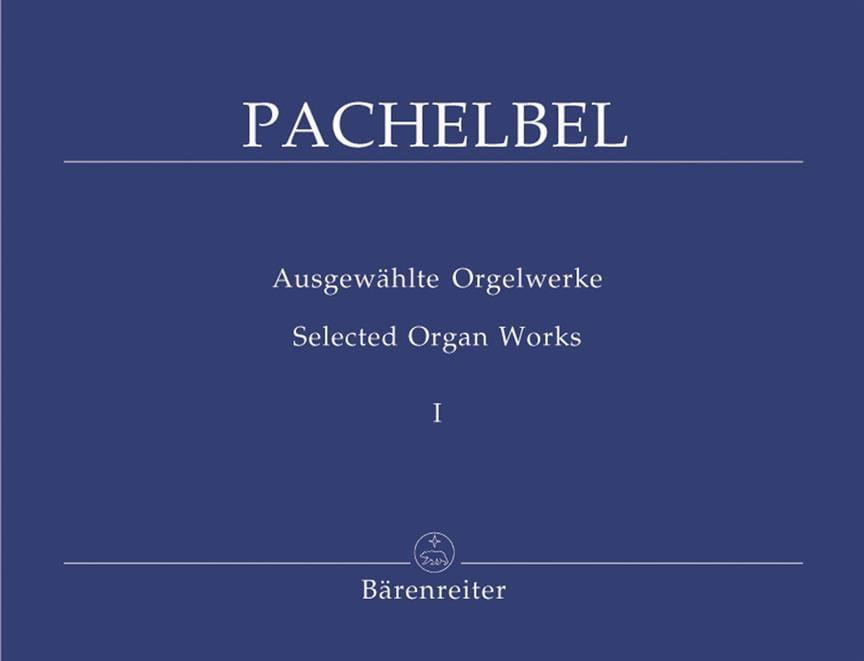 Oeuvre Pour Orgue Volume 1 - PACHELBEL - Partition - laflutedepan.com