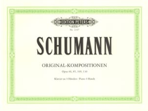 Compositions Originales. 4 Mains SCHUMANN Partition laflutedepan