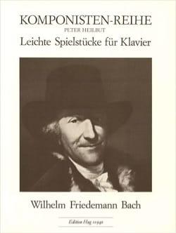 Leichte Spielstücke Wilhelm Friedemann Bach Partition laflutedepan
