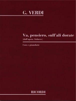 VERDI - Go Pensiero. Nabucco - Partition - di-arezzo.com