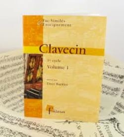 Clavecin 1° Cycle Volume 1 Partition Clavecin - laflutedepan