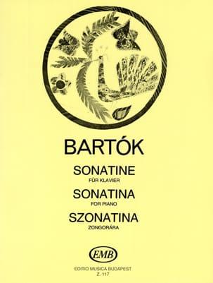 BARTOK - Sonatine - Partition - di-arezzo.com