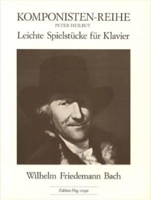 Leichte Spielstücke - Wilhelm Friedemann Bach - laflutedepan.com