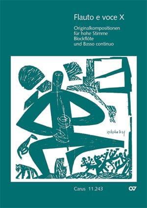 Flauto E Voce. Volume 10 - Partition - laflutedepan.com
