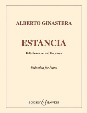 Estancia Op. 8 - GINASTERA - Partition - Piano - laflutedepan.com