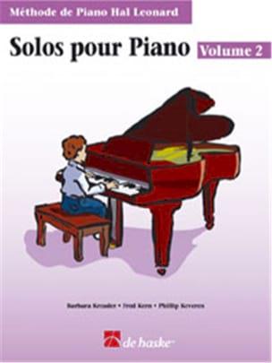Solos Pour Piano Volume 2 Kreader / Kern Jerome / Keveren laflutedepan
