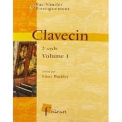 Clavecin 2° Cycle Volume 1 Partition Clavecin - laflutedepan