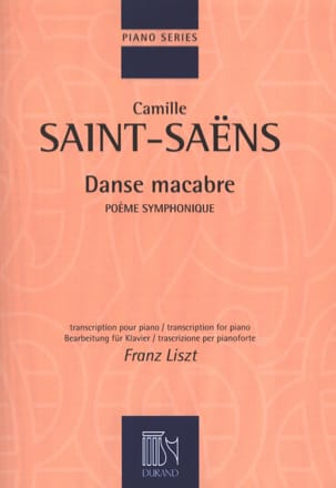 Danse Macabre Saint-Saëns Camille / Liszt Franz Partition laflutedepan