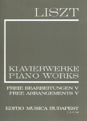 Free Arrangements Serie 2, Volume 5 - LISZT - laflutedepan.com