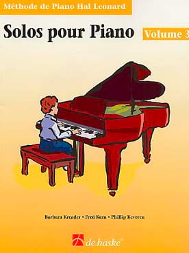 Solos Pour Piano Volume 3 - laflutedepan.com