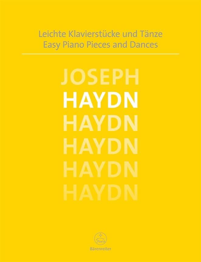 Easy Piano Pieces and Dances - HAYDN - Partition - laflutedepan.com