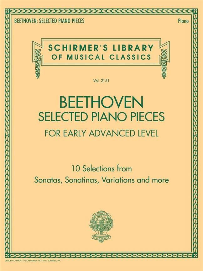 Selected Piano Pieces - Early Advenced Level - laflutedepan.com