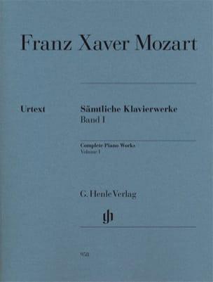 Œuvres Complètes Pour Piano, Volume 1 Franz-Xaver Mozart laflutedepan