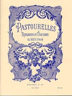 Pastourelles Partition Mélodies - laflutedepan