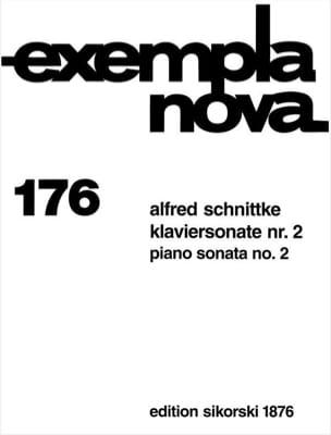 Sonate pour piano n° 2 SCHNITTKE Partition Piano - laflutedepan