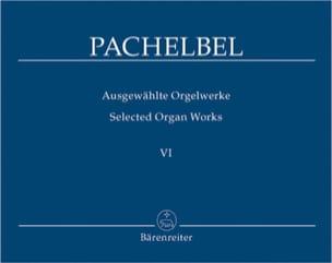 Oeuvre Pour Orgue Volume 6 PACHELBEL Partition Orgue - laflutedepan