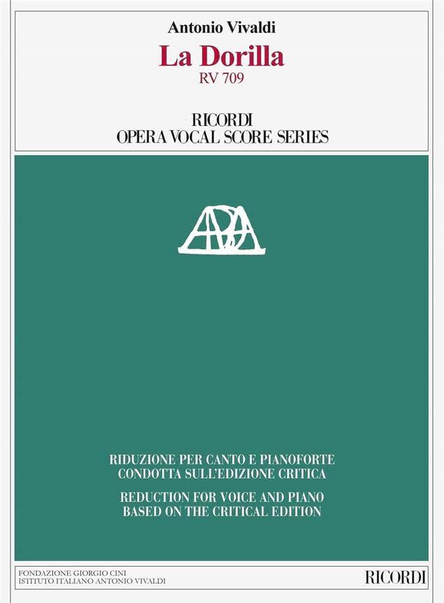 La Dorilla RV 709 - Edition Critique - VIVALDI - laflutedepan.com