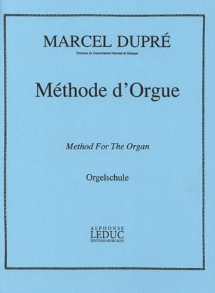 Méthode d' Orgue DUPRÉ Partition Orgue - laflutedepan