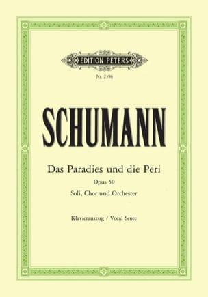 Das Paradies Und Die Peri Opus 50 SCHUMANN Partition laflutedepan