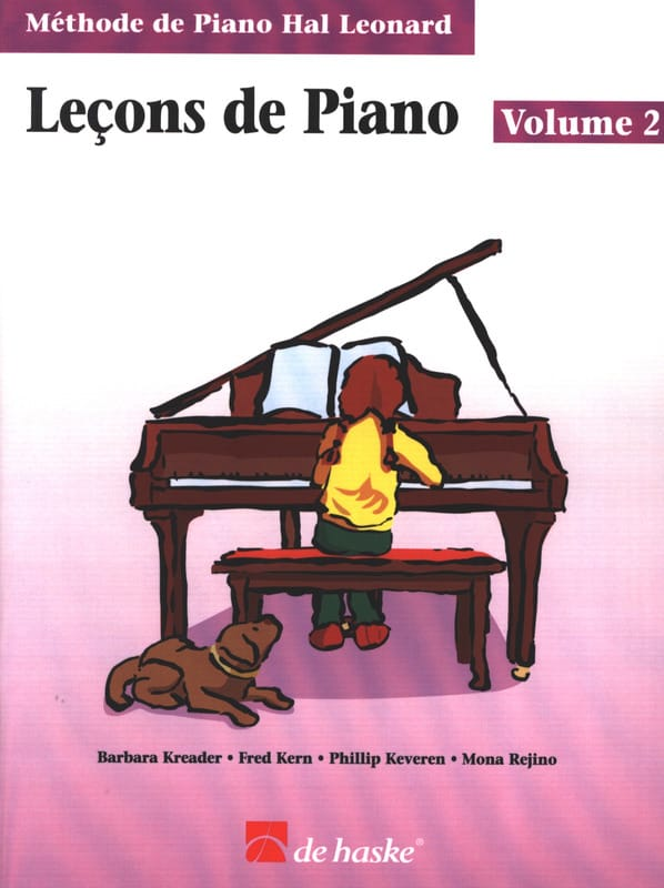 Leçons de Piano Volume 2 - laflutedepan.com