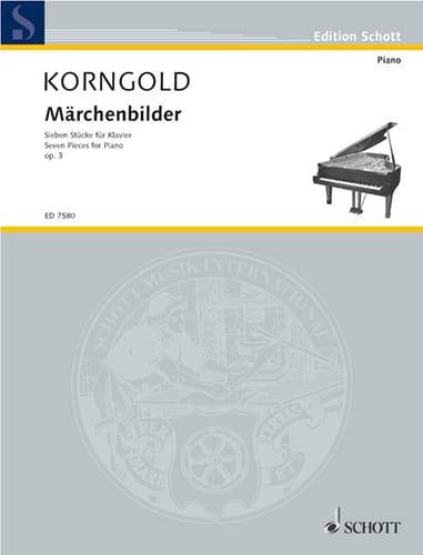 Märchenbilder Opus 3 - KORNGOLD - Partition - Piano - laflutedepan.com