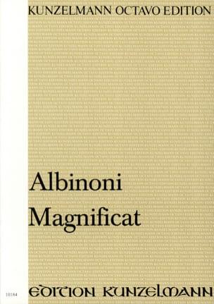 Magnificat. Conducteur ALBINONI Partition Chœur - laflutedepan
