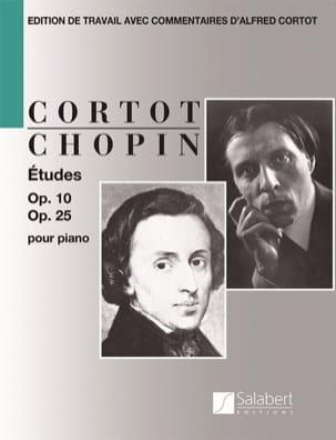 Etudes Opus 10 et Opus 25 CHOPIN Partition Piano - laflutedepan