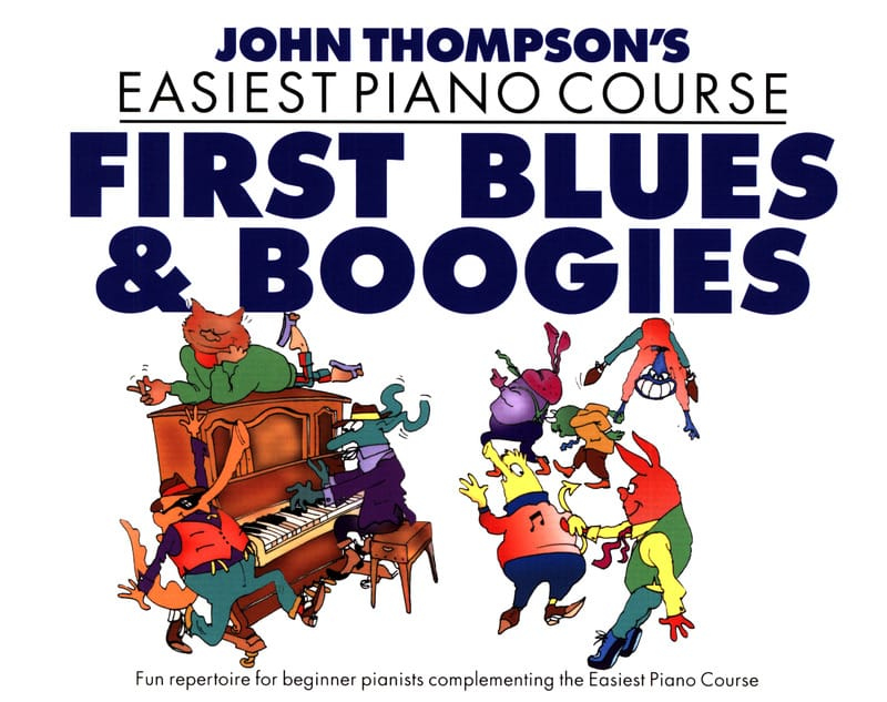 First Blues And Boogies - john Thompson - Partition - laflutedepan.com